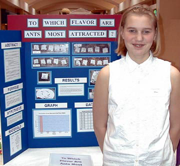 Science Fair Projects - Are ants picky over their food? Do they have ...