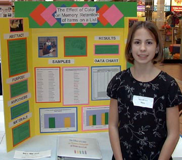 Saved Science Fair Projects